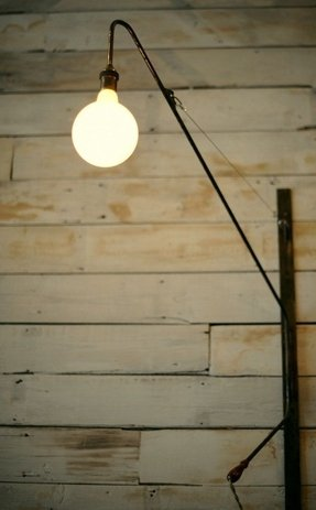 Arch swing arm wall lamp