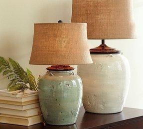 Blue Glaze Ceramic Table Lamp Ideas On Foter