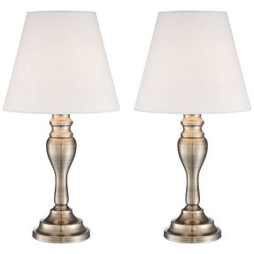 Brass touch table lamp 2
