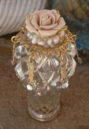 Crystal lamp finials 16