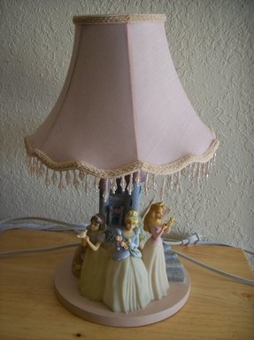 Disney Princesses Table Lamp Foter
