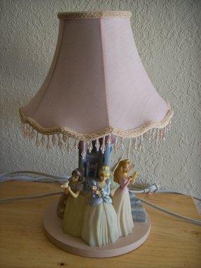 Disney Princesses Table Lamp Foter