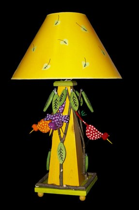 Folk art lamps 11