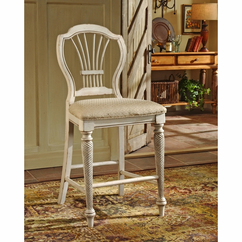 Hillsdale Furniture Wilshire 23.25 Bar Stool Set Of