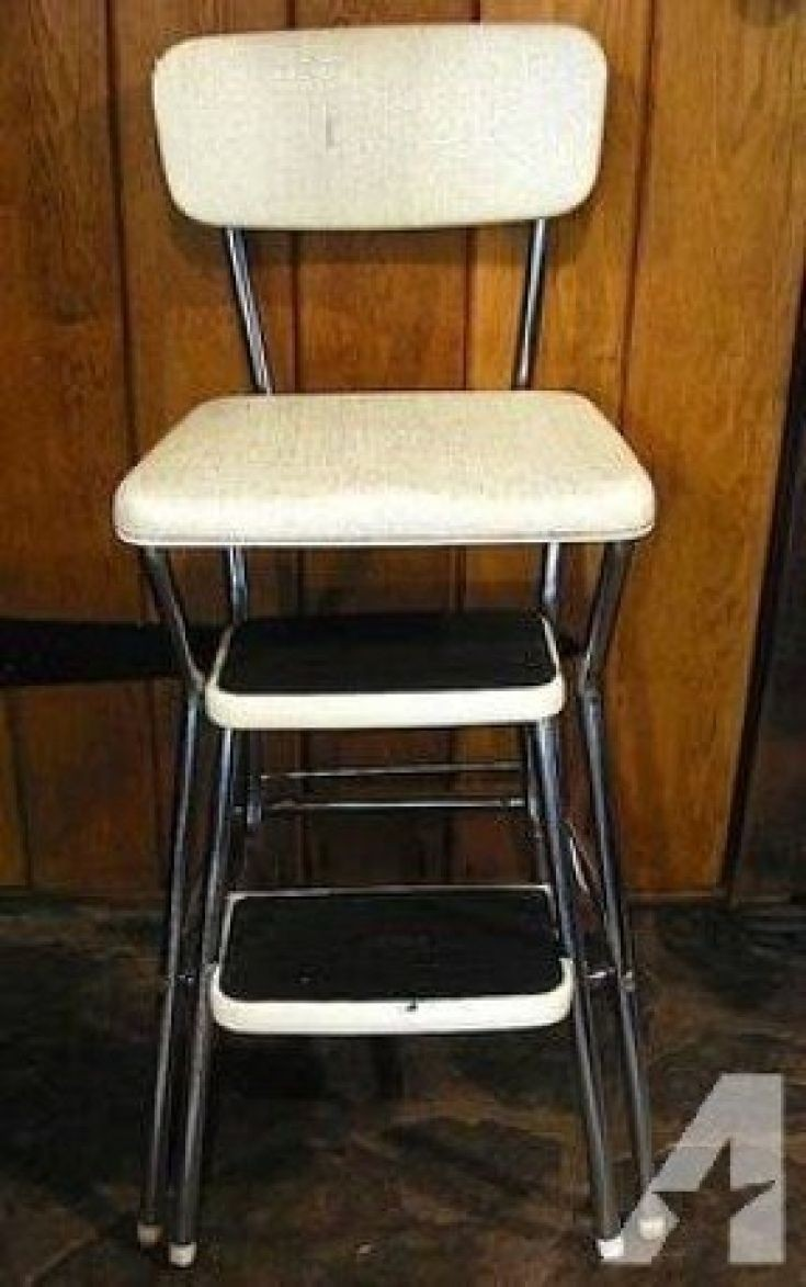 Kitchen Step Stools With Backs