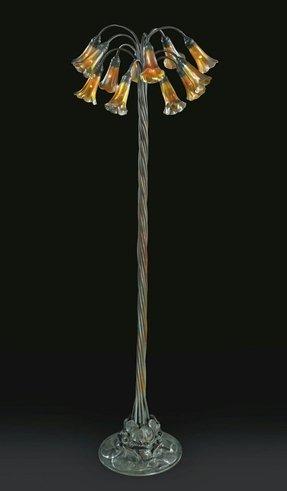 Fresh Lily Floor Lamp - Foter FJ48
