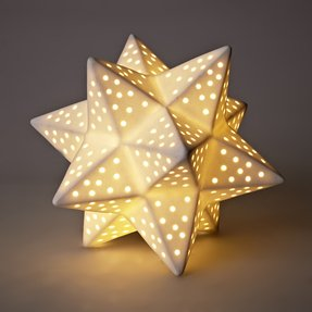Moroccan star lamp 24
