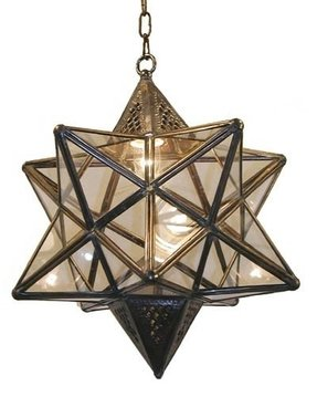 Moroccan star lamp 8