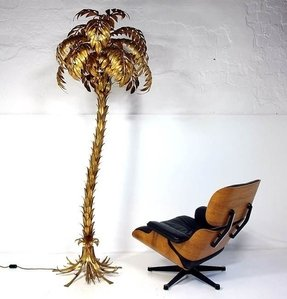 Palm tropical floor lamp 1