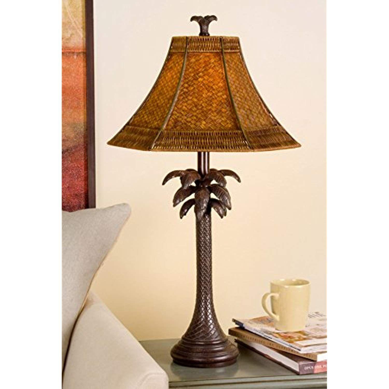 Palm Tropical Floor Lamp 2
