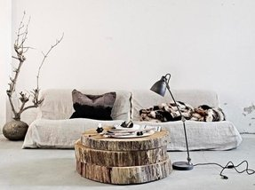 Rustic coffee table trunk 36