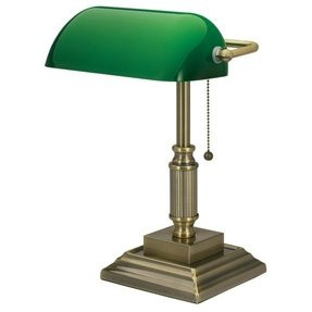Traditional bankers lamp 2