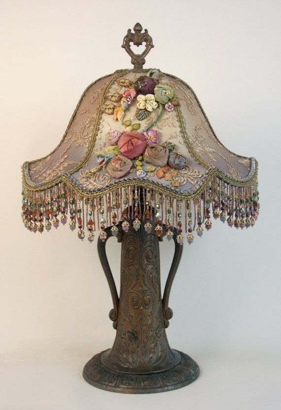 Beau Victorian Table Lamps