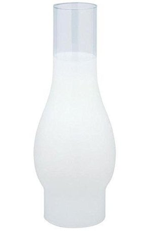 Westinghouse Chimney Glass 3 In. Fitter Frosted