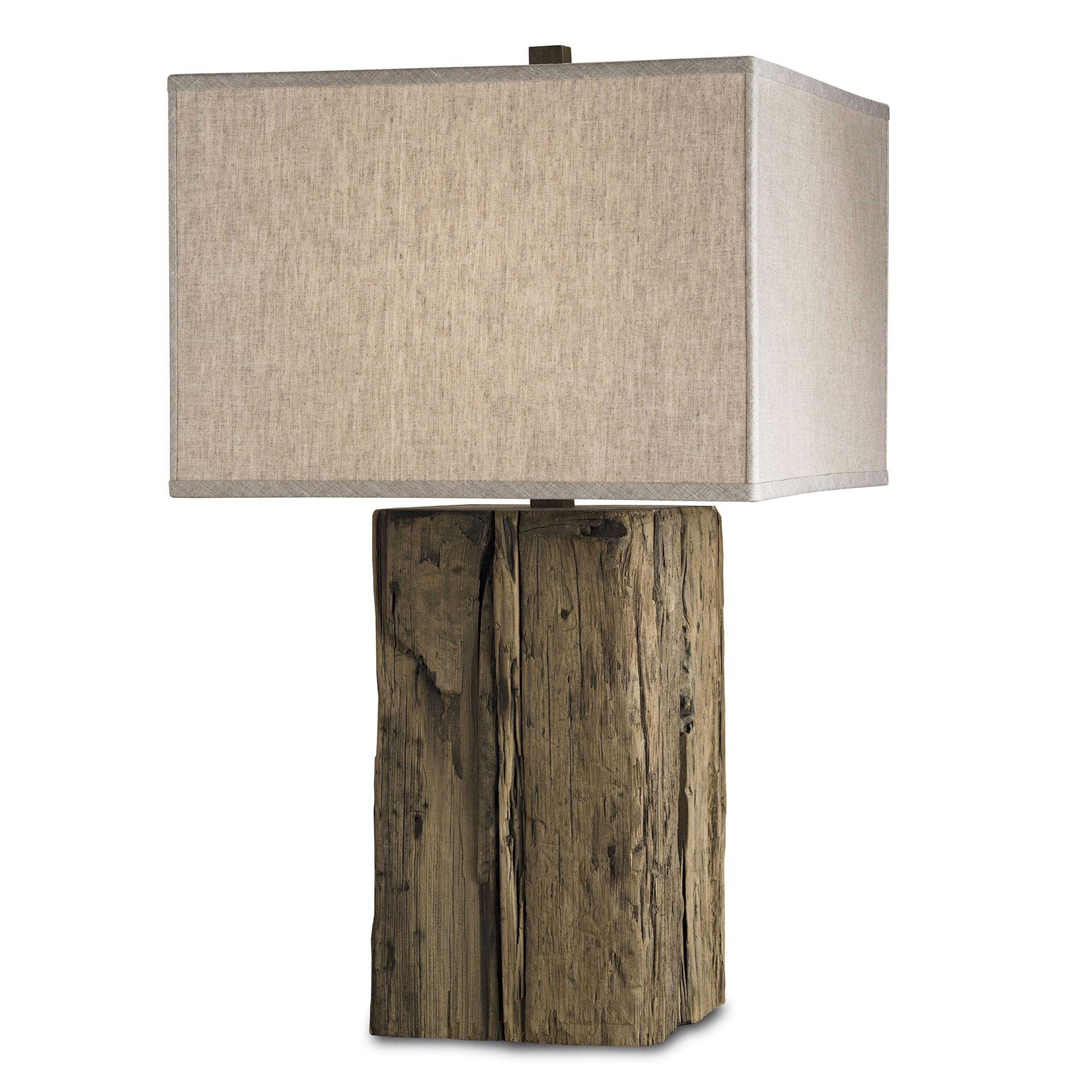 Delicieux Wood Base Table Lamp 2
