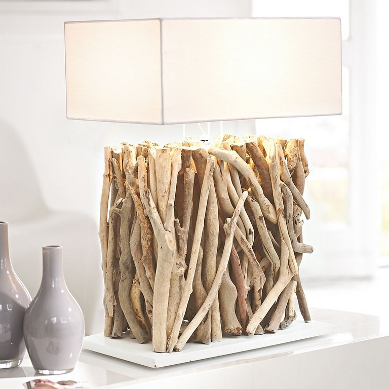 Wood Base Table Lamp 32
