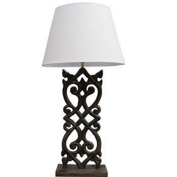 Wrought Iron Lamp 1