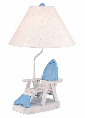 Adirondack Table Lamp Foter