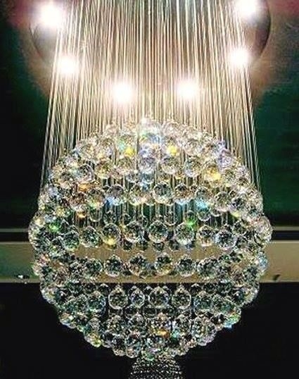 Antique Crystal Lamps With Prisms