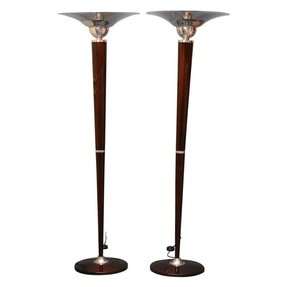 Antiques torchiere floor lamp foter antique torchiere floor lamp 1 aloadofball Image collections
