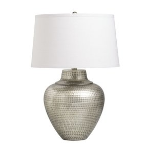 Antiques pewter table lamp 8