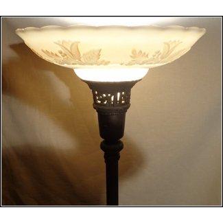 Antiques Torchiere Floor Lamp 13