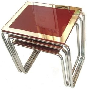 Art deco nesting tables 2