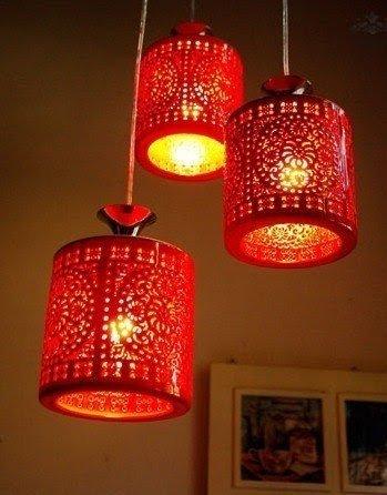 Asian Hanging Lamps 1