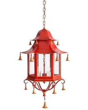 Asian style light fixtures