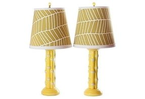 Bamboo lamps foter bamboo tropical table lamp 9 aloadofball Image collections