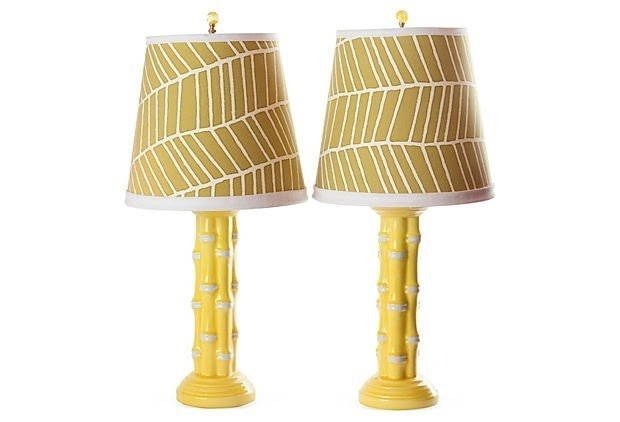 Lovely Bamboo Tropical Table Lamp 9