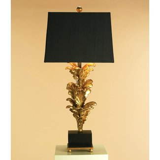 Black Gold Liner Lamp Shades 1