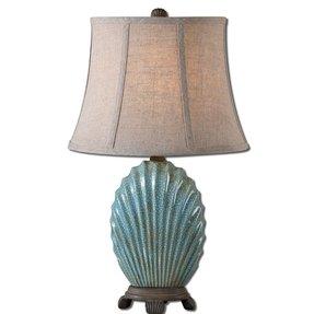 Blue chocolate lamp shade foter blue chocolate lamp shade 23 aloadofball Gallery