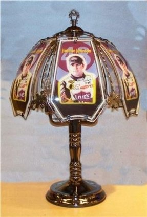 Dale earnhardt lamp
