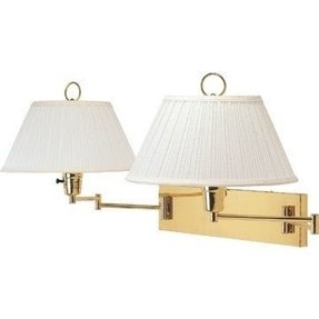 Double swing arm wall lamp 3
