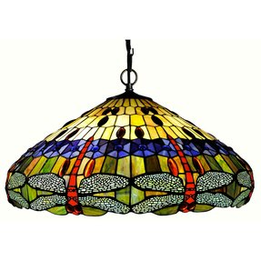 Stained Glass Hanging Pendant Lamp Foter