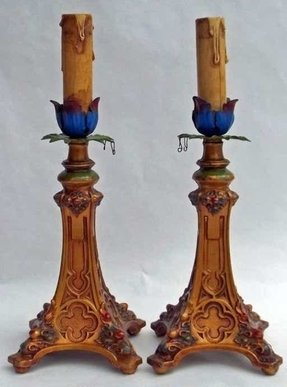 Electric candlestick lamp 13