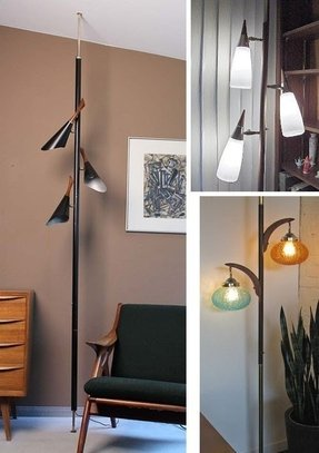 Floor ceiling pole lamp foter floor ceiling pole lamp mozeypictures Images