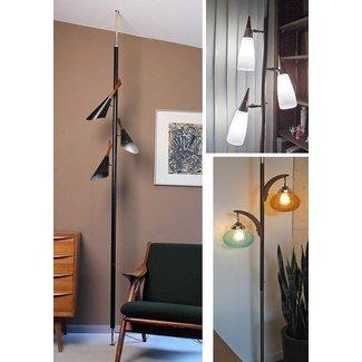 Floor ceiling pole lamp foter floor ceiling pole lamp aloadofball Choice Image