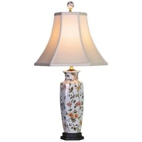 Floral Porcelain Table Lamp Foter