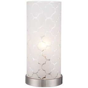 Glass cylinder table lamp 17