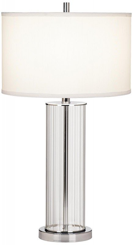Etonnant Glass Cylinder Table Lamp
