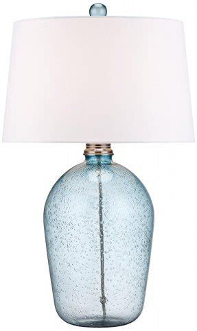 Merveilleux Hand Blown Glass Table Lamps