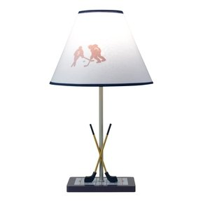 "Hockey 20"" H Table Lamp with Empire Shade"