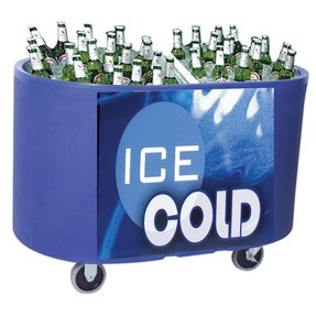 Irp irp 100 portable beverage tub carrier 21 5 x