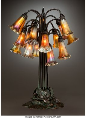 Lily tiffany table lamp 8