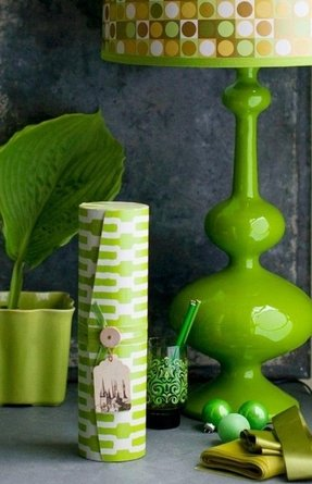 Lime green lamps 10
