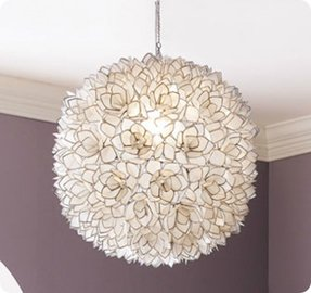 Lotus lamp shades foter lotus flower lamp shade aloadofball Choice Image