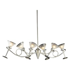 Martini glass lamp 28