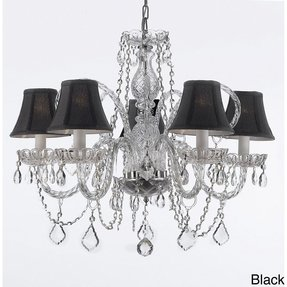 Mini chandelier lamp shades 19